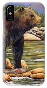 Bear Catch Of The Day IPhone Case