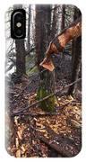 Beaver Marks IPhone Case