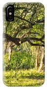 Bent Trees IPhone Case