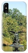 Birdbath Of Central Park IPhone Case