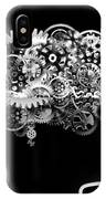 Brain Design By Cogs And Gears IPhone Case