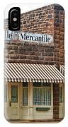 Brookville Mercantile IPhone Case