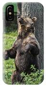Brown Bear Itch IPhone Case