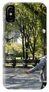 Bubble Boy Of Central Park IPhone Case