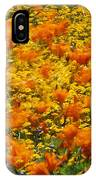 California Poppies And Goldfields Dance IPhone Case
