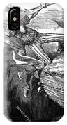 Cartoon: Civil War, 1862 IPhone Case
