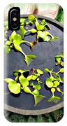 Center Of A Pond IPhone Case