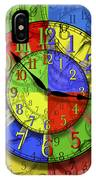 Changing Times IPhone Case
