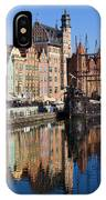 City Of Gdansk IPhone Case