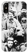 Civil War Volunteers 1861 IPhone Case