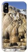 Cleopatra Terrace, Mammoth Hot Springs IPhone Case