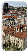 Clock Tower View - Prague IPhone Case