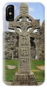 Clonmacnoise, Co. Offaly, Ireland IPhone Case