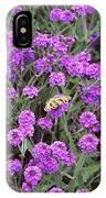 Coarse Verbena (verbena Rigida) IPhone Case