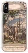 Columbus: Native Americans IPhone Case
