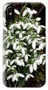 Common Snowdrop (galanthus Nivalis) IPhone Case