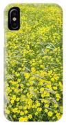 Corn Marigolds (chrysanthemum Segetum) IPhone Case