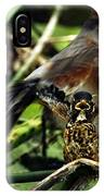 Cry Of The American Robin. IPhone Case