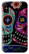 Day Of The Dead Couple IPhone Case