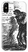 Depression Cartoon, 1932 IPhone Case