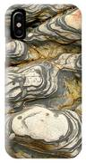 Detail Of Eroded Rocks Swirled IPhone Case