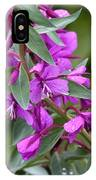 Dwarf Fireweed IPhone Case
