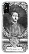 Edward Vi (1537-1553) IPhone Case