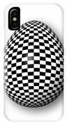 Egg Checkered IPhone Case