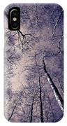 Epping Forest Trees IPhone Case
