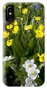 Erythronium Grandiflorum IPhone Case