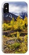 Fall Colours And Auriol Range, Kluane IPhone Case