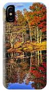 Fall Forest Reflections IPhone Case