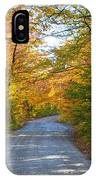 Fall In New England IPhone Case