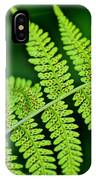 Fern Seed IPhone Case