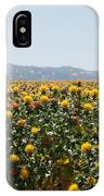 Fields Of Safflowers IPhone Case