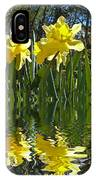 Flooded Daffodils IPhone Case