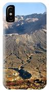 Flowers On Mount St. Helens IPhone Case