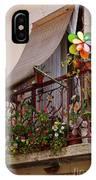 Flowery Balcony IPhone Case