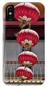 Four Lanterns IPhone Case