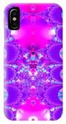 Fractal 16 Purple Passion IPhone Case