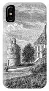 France: Wine Ch�teau, 1868 IPhone Case