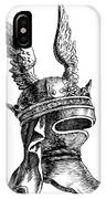 French Medieval Helmet IPhone Case