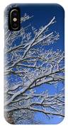 Fresh Snowfall Blankets Tree Branches IPhone Case