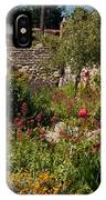 Gardens In Carmel Monastery IPhone Case