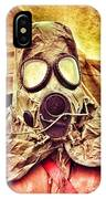Gas Mask IPhone Case