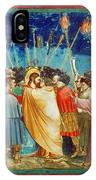 Giotto: Betrayal Of Christ IPhone Case