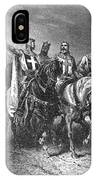 Godfrey (1058-1100) IPhone Case