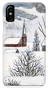 Great Snow Of 1717 IPhone Case