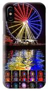 Great Wheel Poster IPhone Case