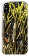 Green Fleece Seaweed IPhone Case